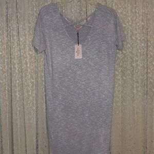 JUICY COUTURE DRESS HEATHER GRAY DRESS NWT
